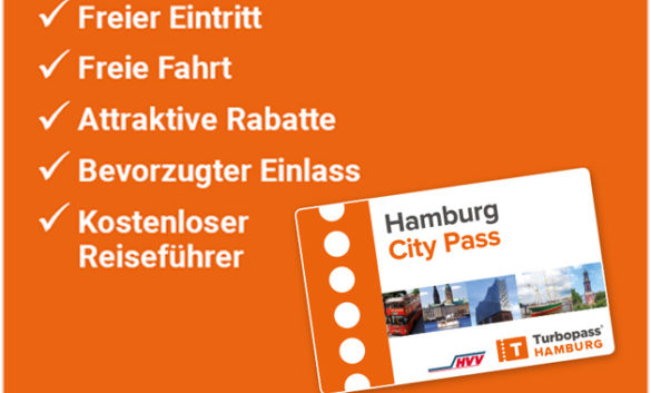 ​Einmal alles in Hamburg - Hamburger City Pass